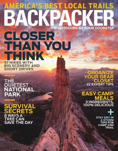 Read the latest issue of Backpacker