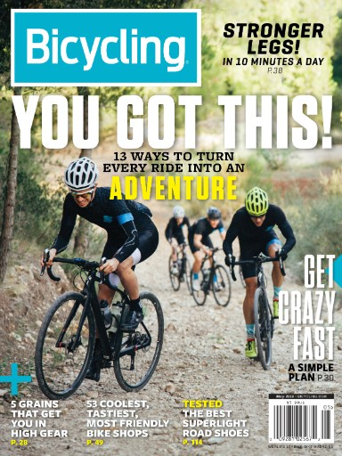 Read the latest issue of Bicycling