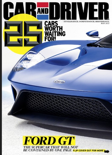 Read the latest issue of Car & Driver