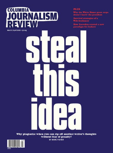 Read the latest issue of Columbia Journalism Review