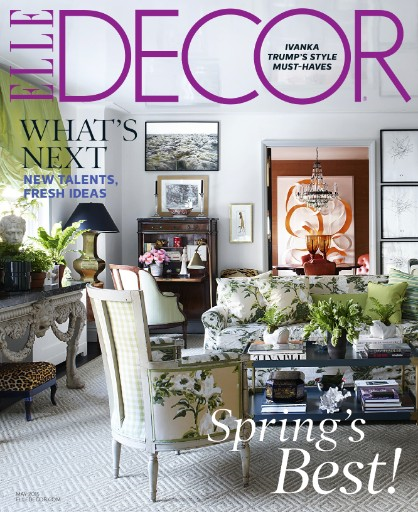 Read the latest issue of Elle Decor