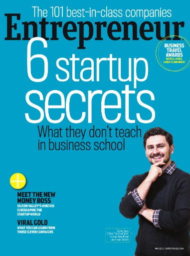 Read the latest issue of Entrepreneur