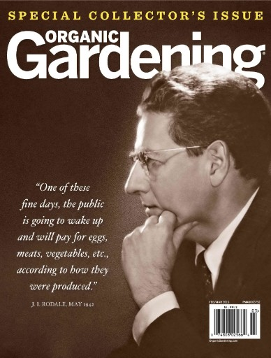 Read the latest issue of Organic Gardening