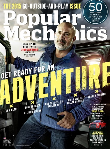 Read the latest issue of Popular Mechanics
