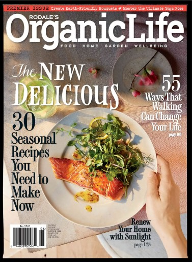 Read the latest issue of Rodale's Organic Life