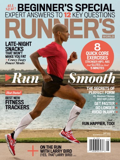 Read the latest issue of Runner's World