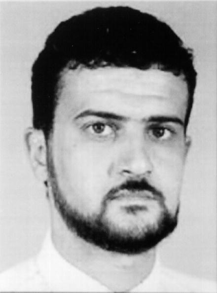 FBI Unveiled a New Most Wanted List: UNSPECIFIED - UNDATED: Anas Al-Liby, a suspected terrorist, is shown in this photo released by the FBI October 10, 2001 in Washington, D.C. Al-Liby is wanted in connection with the bombings of the U.S. Embassies August 7, 1998 in Dar es Salaam, Tanzania, and Nairobi, Kenya. (Photo Courtesy of FBI/Getty Images)