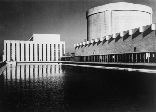 Nuclear Centre An experimental nuclear centre in Finistere, Britanny.   (Photo by Keystone/Getty Images)  -- Image Date: 01/01/1966  -- Image Date: 01/01/1966