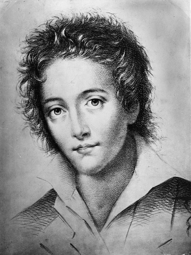 circa 1820:  English poet, Percy Bysshe Shelley 1792-1822.  (Photo by Hulton Archive/Getty Images)