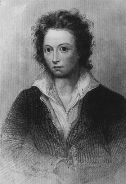 circa 1815:  Percy Bysshe Shelley (1792 - 1822) the English Romantic poet who died in a drowning accident.  (Photo by Hulton Archive/Getty Images)  -- Image Date: 1/1/1815  -- Image Date: 1/1/1815
