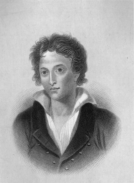 circa 1815:  English Romantic poet Percy Shelley (1792 - 1822) who married the daughter of William Godwin and Mary Wollstonecraft. His poetry is regarded as some of the most lyrical of his era.  (Photo by Hulton Archive/Getty Images)  -- Image Date: 1/1/1815  -- Image Date: 1/1/1815