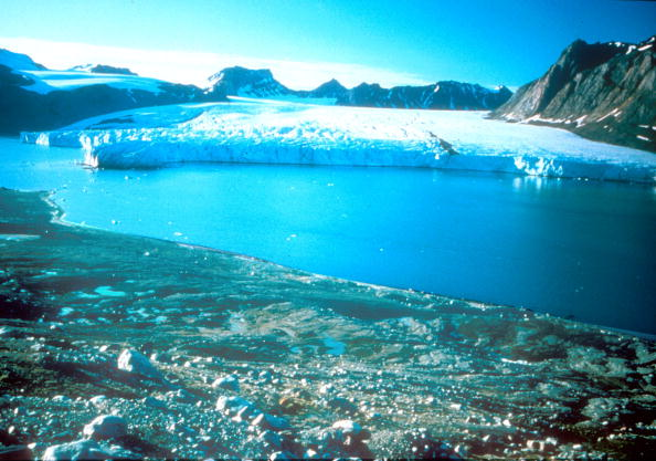 Undated Photo Taken In Greenland Where Due To Global Warming The Ice Cap In The Past 5 Years Has Shrunk More Than 2.5 Cubic Kilometers.  (Photo By Getty Images)  -- Image Date: 8/20/1999