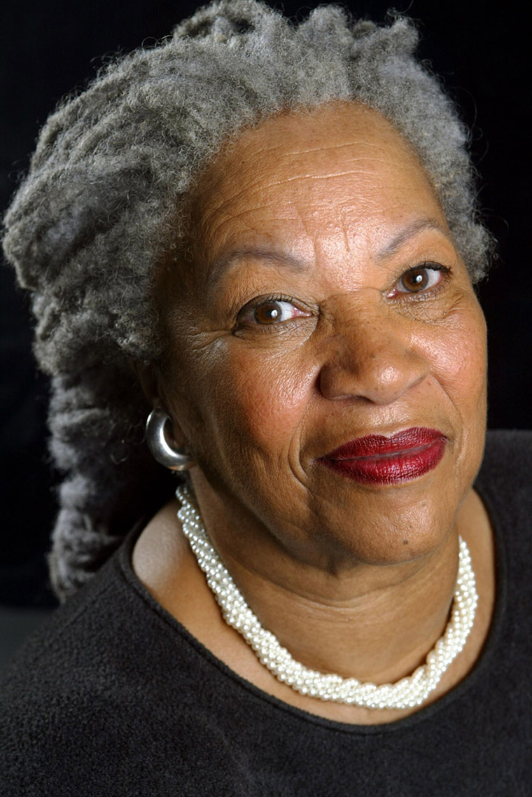 NEW YORK - AUGUST 29:  (U.S. TABS OUT AND NO SALES TO A.M.I)   Author Toni Morrison poses for a portrait for her book entitled