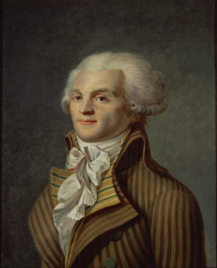 Maximilien Robespierre (1758-1794). By an Anonymous French painter. Musee Carnavalet, Paris, France.