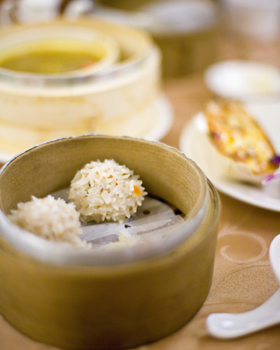 Traditional Taiwanese vegetarian snacks