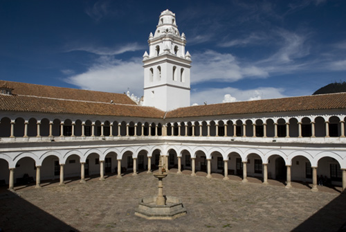 San Francisco University, Sucre, Bolivia
