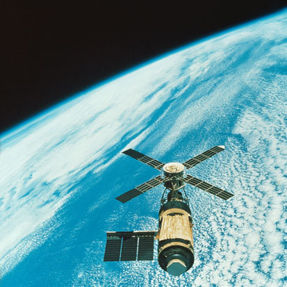Skylab over Earth  -- Image Date: 25/06/1999  -- Image Date: 25/06/1999
