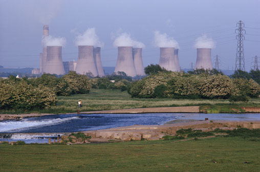 Nuclear Power Plant Cooling Towers  -- Image Date: 27/05/1999  -- Image Date: 27/05/1999