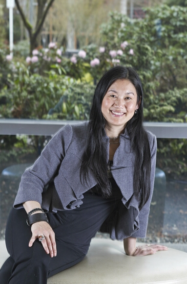 Microsoft researcher Lili Cheng has been instrumental in shaping the company's direction on social networking. (Dean Rutz/Seattle Times/MCT)