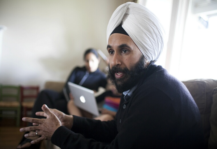 Mandeep Dhillon is Togetherville's  founder and CEO. Togetherville is a social networking site that Dhillon designed for grade schoolers and their parents. (Dai Sugano/San Jose Mercury News/MCT)