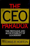 The CEO Paradox