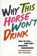 Why This Horse Won't Drink