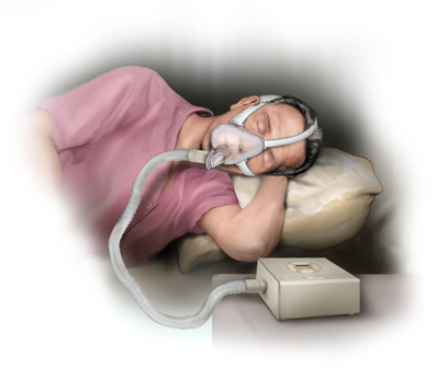 Sleep monitor apnea
